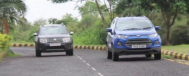 Indienii compara Dusterul cu Ford EcoSport: care este mai bun?