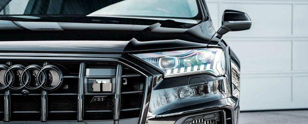 Infatisarea este acum pe masura cifrelor. Audi SQ7 de la ABT are 510 CP si 970 Nm