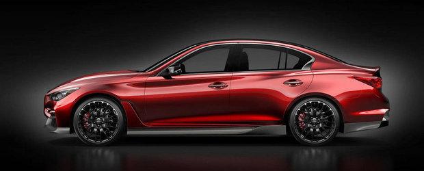 Infiniti dezvaluie un nou teaser al conceptului Q50 Eau Rouge
