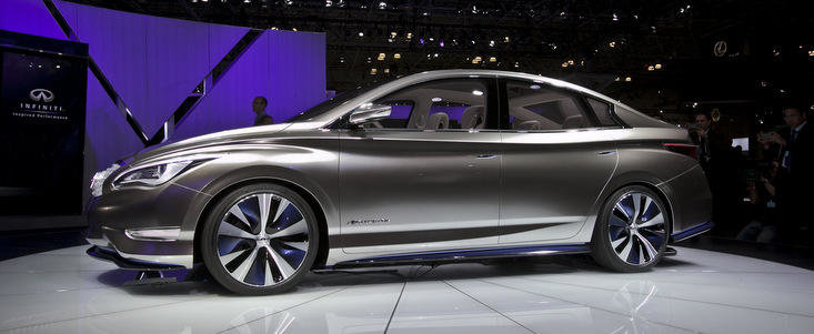 Infiniti la Salonul Auto de la Paris - Performanta inspirata si emisii zero