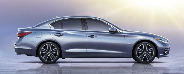 Infiniti Q50 va beneficia de un motor diesel produs impreuna cu Mercedes-Benz