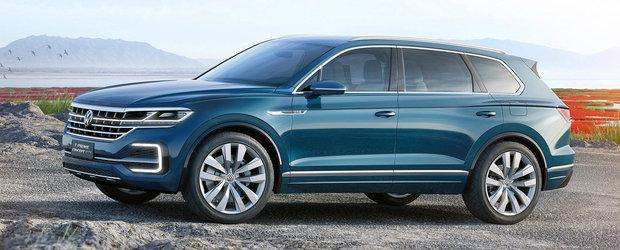 Informatia a fost confirmata oficiala. Cand incepe productia noului Volkswagen Touareg
