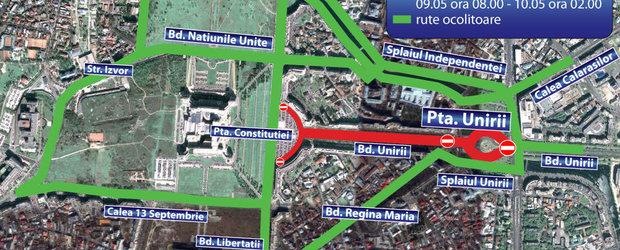 Informatii complete despre restrictiile de trafic din zona stadionului National Arena
