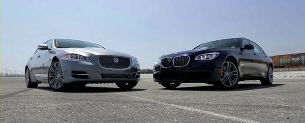 Infruntarea Titanilor: BMW 750Li versus Jaguar XJL Supercharged