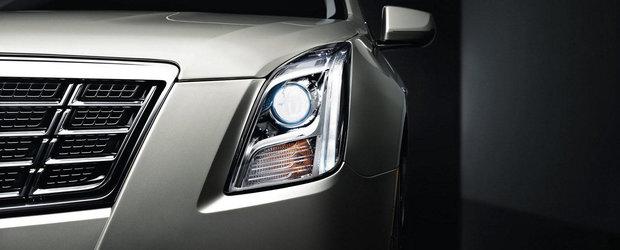 Infuzie de lumini pentru noul Cadillac XTS