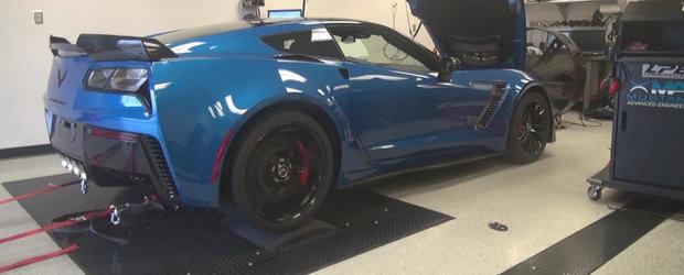 Infuzie de putere pentru noul Corvette Z06, de la Lingenfelter Performance