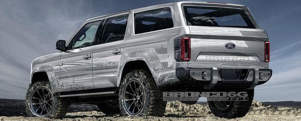 """Inginer Ford: """"Noul Bronco va avea un motor V6 de 325 de cai putere!"""""""