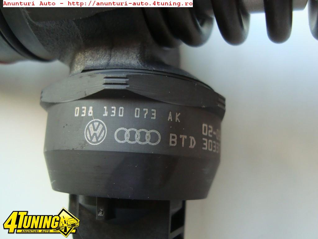 Injectoare Ford Galaxy VW Seat, 1.9 TDi Cod 038130073AK Bosch 0414720038