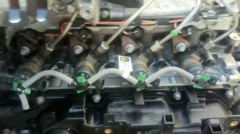 Injectoare Peugeot 207 1 6 Hdi 9hp 92 Cai Euro 5 0445110340 9687069280