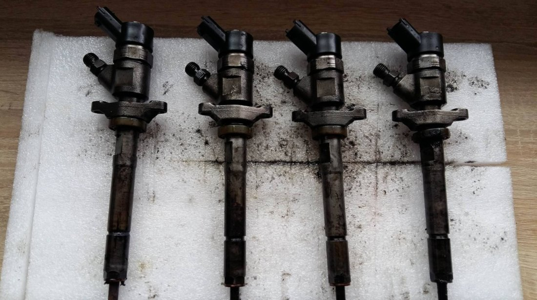 Injector ford focus 2 c-max fiesta 5 fusion mazda 3 citroen berlingo c3 c4 1.6 tdci 0445110259 hhda