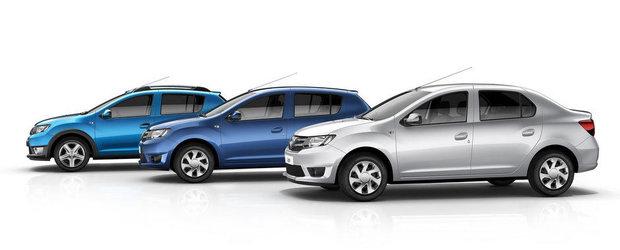 Inmatricularea de masini noi Dacia in UE au scazut cu 26% in noiembrie