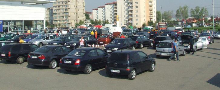Inmatricularile de masini noi au scazut cu 24% in luna iulie
