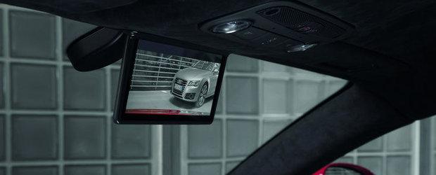 Inovatie Audi: Oglinda retrovizoare centrala va fi inlocuita cu un monitor