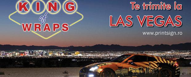 Inscrie-te la KING of Wraps, concursul care te trimite la Las Vegas!
