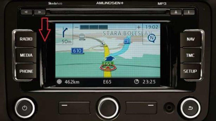 Instalare Harti Navigatie VW, SKODA, SEAT, RNS 315 2016
