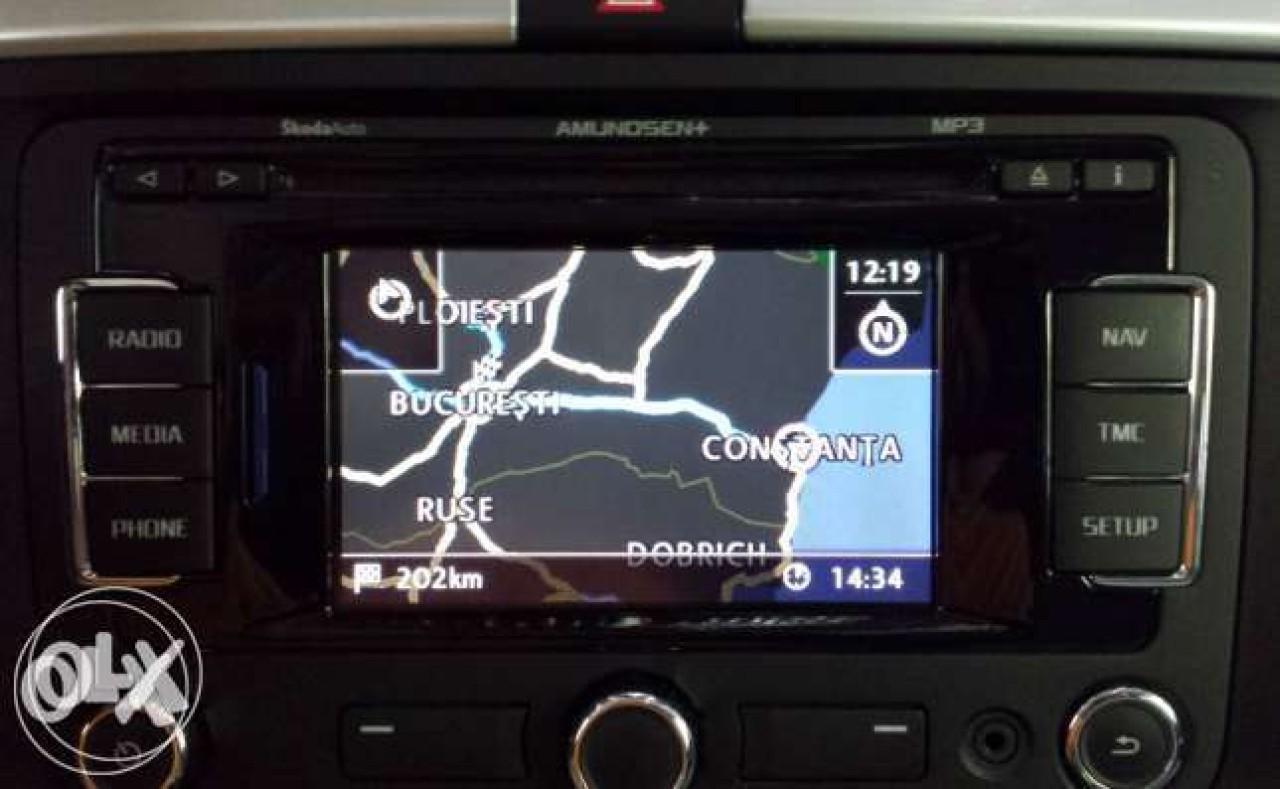 Instalare Update Harti Volkswagen Card Sd Rns 315 Gps Vw V8 2016