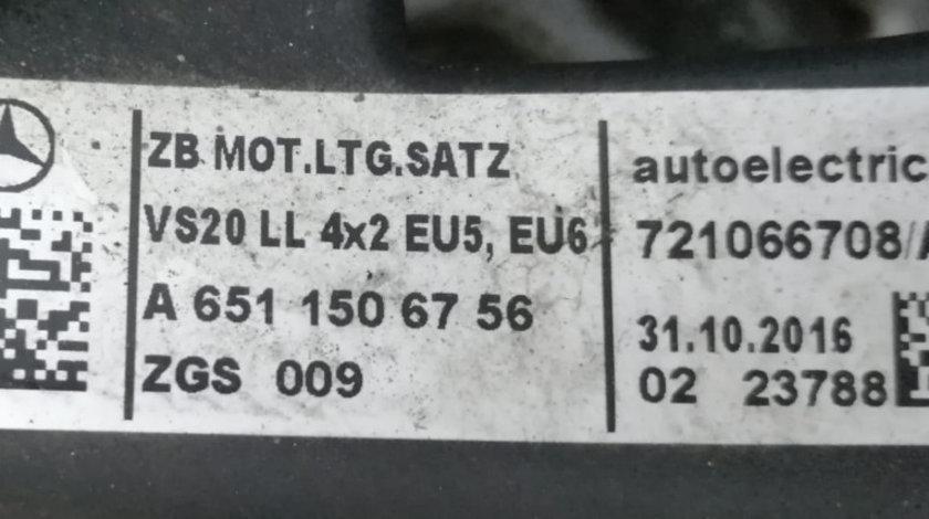 Instalatie Electrica Motor Mercedes Vito 2.2 CDI A6510104822