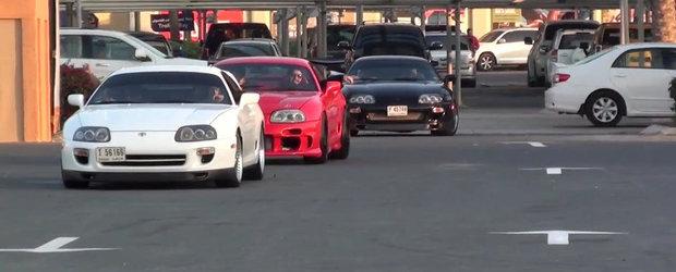 Intalnirea posesorilor de Toyota Supra din Dubai