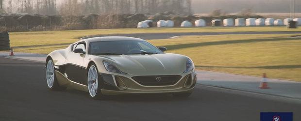 Intalnirea titanilor: hypercarul viitorului impotriva Bugatti-ului Veyron