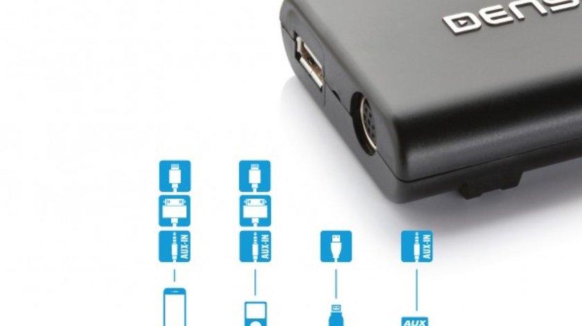 Integrare USB pentru Audi cu mufa Quadlock.Dension Gateway Lite pentru AUDI Quadlock