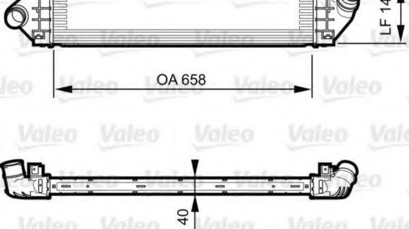 Intercooler, compresor FORD MONDEO IV (BA7) (2007 - 2016) VALEO 818239 piesa NOUA