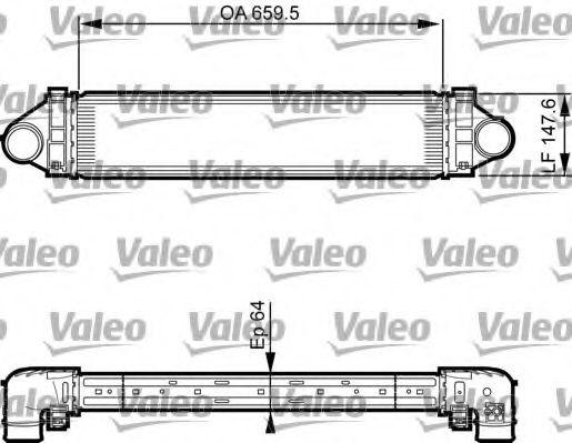 Intercooler, compresor FORD MONDEO IV Turnier (BA7) (2007 - 2016) VALEO 818238 piesa NOUA