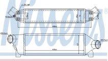 Intercooler, compresor FORD TRANSIT bus (FD, FB, F...