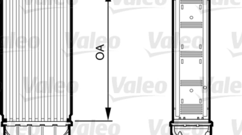 Intercooler compresor PEUGEOT 508 Producator VALEO 818227