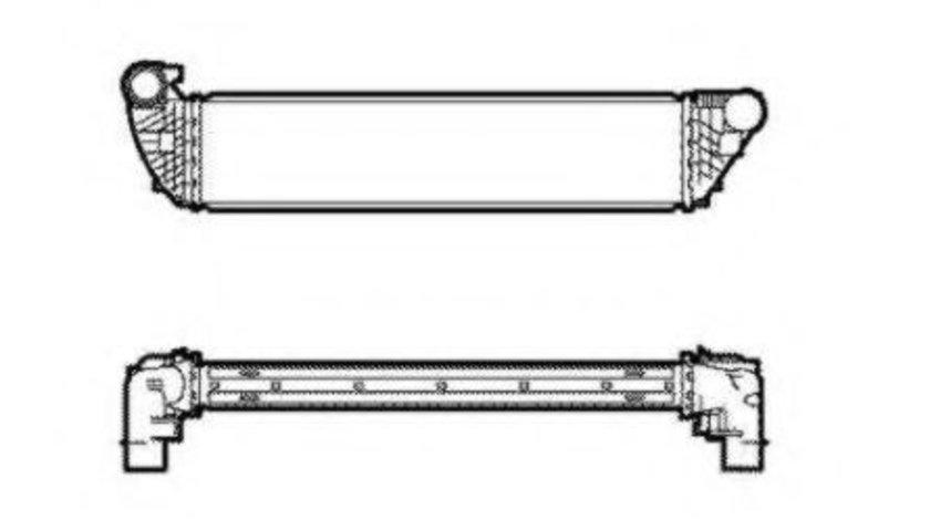 Intercooler, compresor RENAULT ESPACE IV (JK0/1) (2002 - 2015) NRF 30859 piesa NOUA