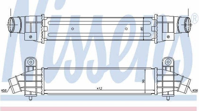 Intercooler FORD MONDEO III (B5Y) 2.2 TDCi