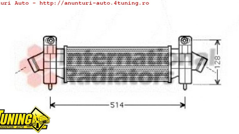 Intercooler Ford Mondeo