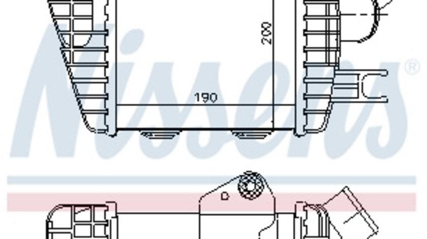 Intercooler HYUNDAI TUCSON; KIA SPORTAGE 2.0 d dupa 2004 cod intern: CI7115CF