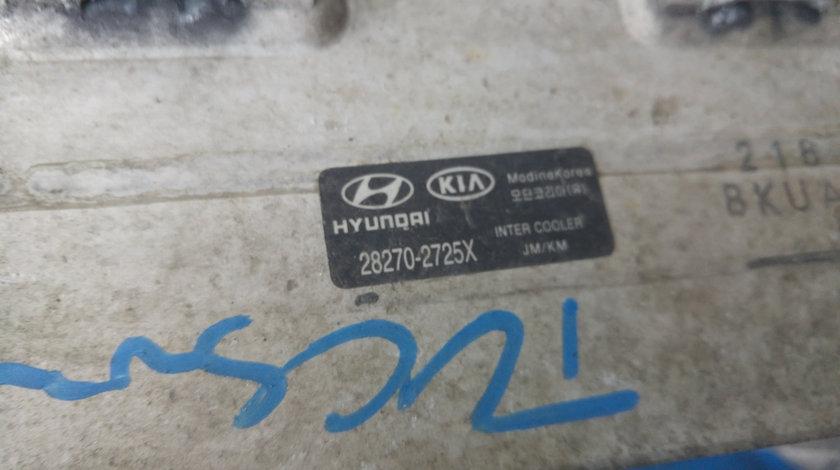 Intercooler hyundai tucson santa fe kia sportage 2.0 crdi d4ea 2001-2010 28270-2725x