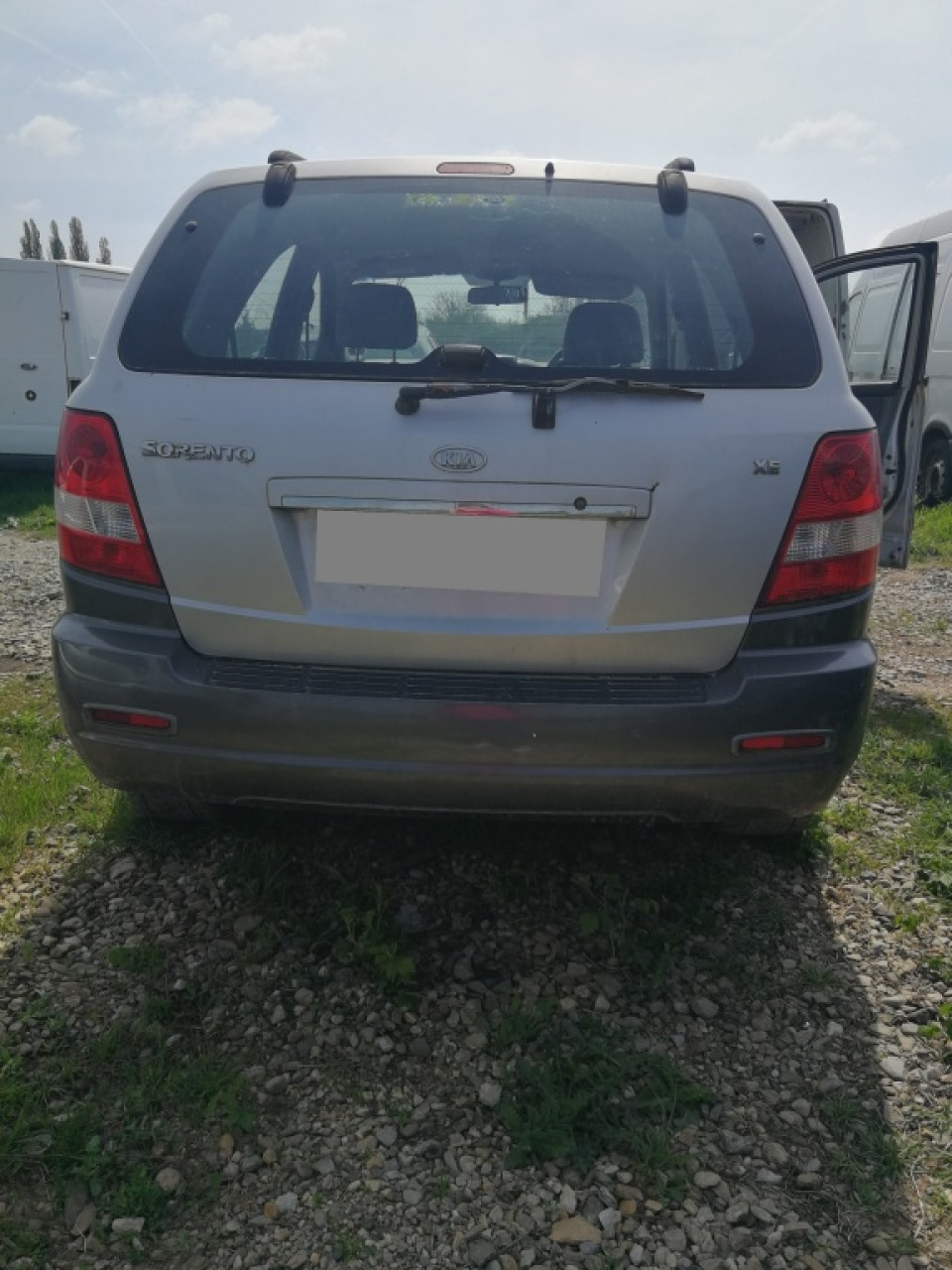 Intercooler Kia Sorento 2004 Hatchback 2.5