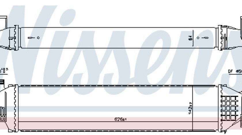 Intercooler MERCEDES Clasa A (W176), B (W246, W242), CLA (C117), CLA SHOOTING BRAKE (X117), GLA (X156); INFINITI Q30 1.6-2.2D dupa 2011