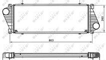 Intercooler MERCEDES SPRINTER 2-T (901, 902), SPRI...