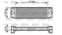 Intercooler Mercedes Sprinter 817994 ( LICHIDARE D...