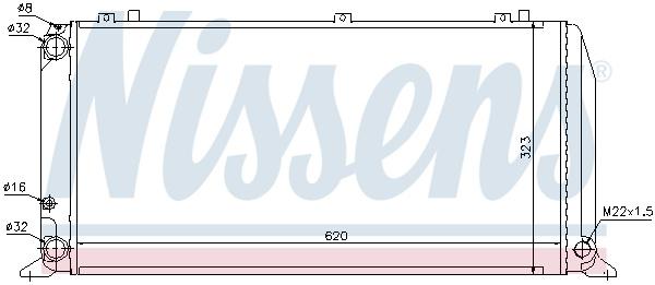 Intercooler MITSUBISHI L 200 / TRITON, PAJERO SPORT II 2.5D/3.2D dupa 2005