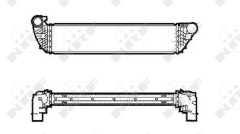 Intercooler RENAULT ESPACE IV, LAGUNA II, VEL SATIS 1.9 2.0 d 2.2D dupa 2004