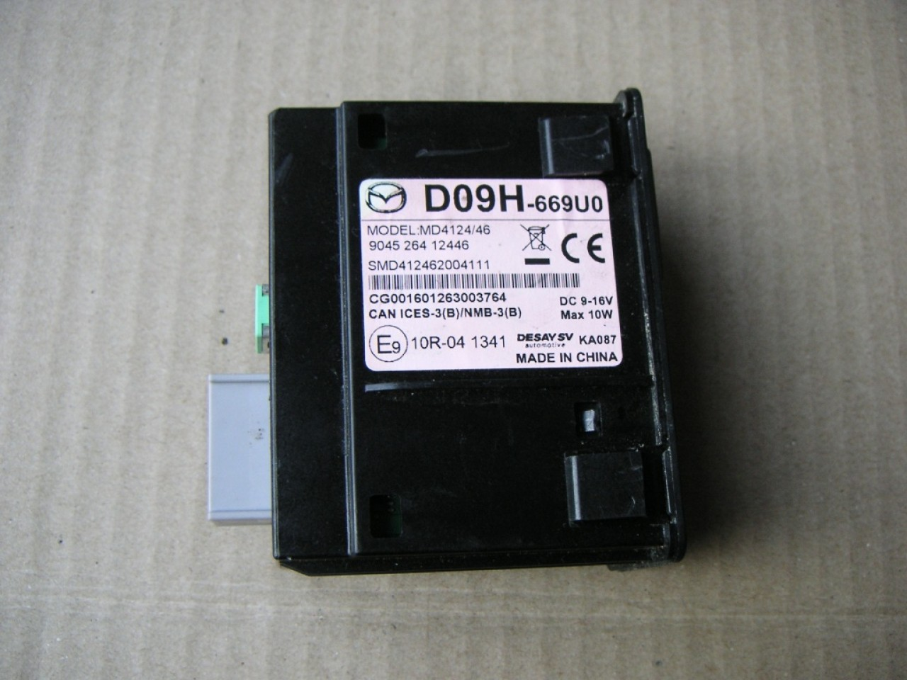 Interfata audio SD, USB, AUX Mazda 2, Mazda 3, Mazda 6