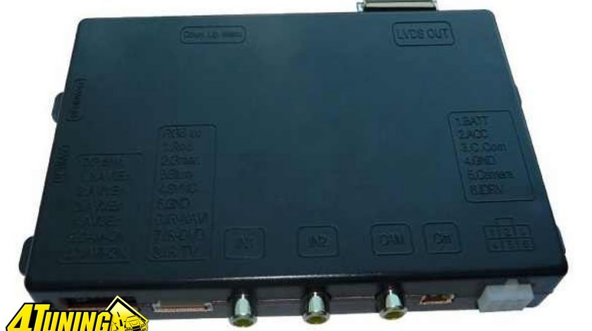 Interfata audio video VL2 DVD900 Dedicata Opel cu Navigatie DVD600 si DVD900