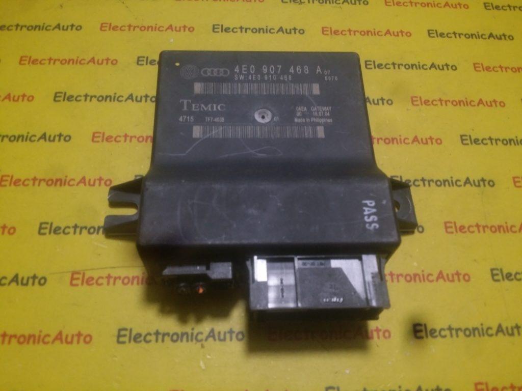 Interfata diagnoza Audi A8 4E0907468A, 4E0910468