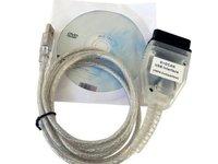 Interfata diagnoza auto BMW INPA Ediabas K+D+CAN DCAN USB OBD2 EOBD noua