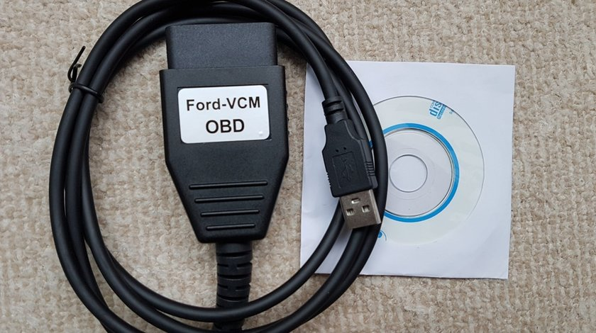 Interfata diagnoza Ford Focom VCM OBD - codeaza pompe , programeaza chei - HQ