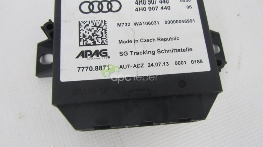 Interfata Localizare Auto Audi A6 4G A7 A8 4H cod 4H0907440