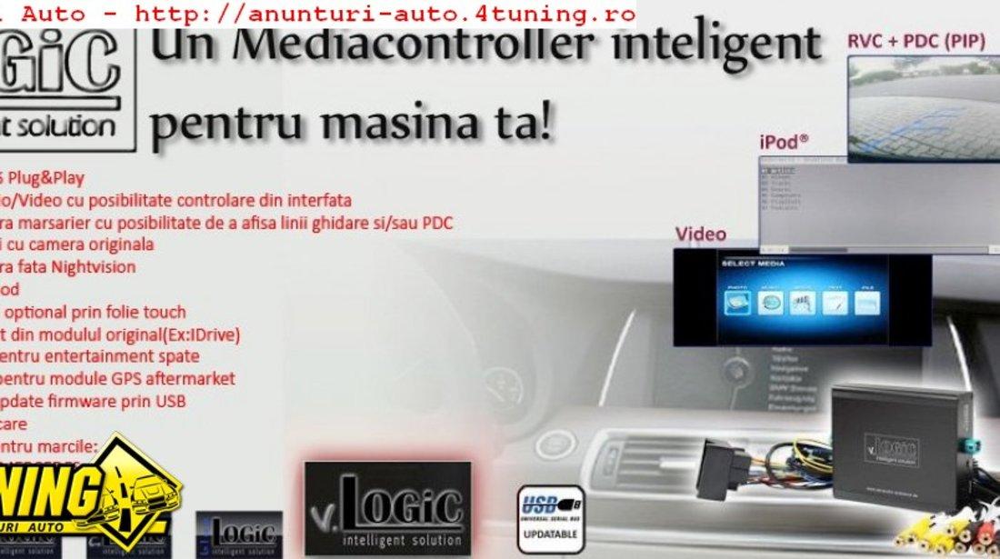 Interfata multimedia audio video v Logic BMW CCC DEDICATA BMW SERIA 1 E87 E88 E81 E82 SERIA 3 E90 E91 E92 E93 SERIA 6 E63 X5 E70 X6 E71 MINI R56
