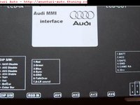 INTERFATA MULTIMEDIA AUTO AUDIO IVDS AUDI MMI 2G DEDICATA AUDI Q7 A6 A8