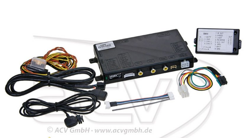 INTERFATA MULTIMEDIA DEDICATA BMW E60 61 E70 E90 91 92 E65 1250 LEI