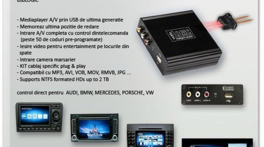 INTERFATA MULTIMEDIA LOCIC DEDICATA MERCEDES CU USB PLAYER USB NTG2 5