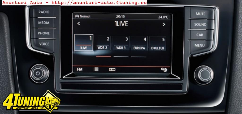 INTERFATA MULTIMEDIA Navigatie Dedicata Volkswagen Golf 7 Skoda Octavia 3 Dynavin Dvn Invw001 Gps Tv Camera Video Cadou Montaj Calificat In Toata Tara